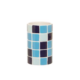 Portaspazzolini effetto mosaico