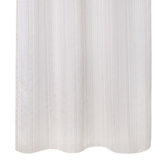 Jacquard striped curtain
