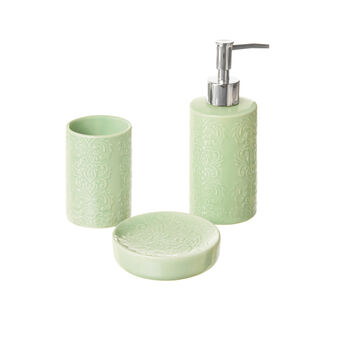 Set di 3 accessori bagno in ceramica