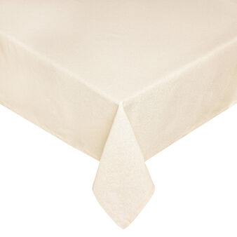 Mélange tablecloth and napkins set with lurex
