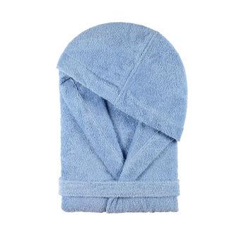 100% cotton lace terry bathrobe