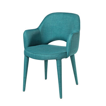 Jeanette fabric armchair