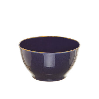 George ceramic small bowl with contrasting colour rim