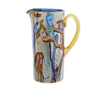 Caraffa in Vetro di Murano originale soffiato a bocca