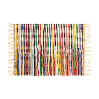 Braided table mat in 100% cotton