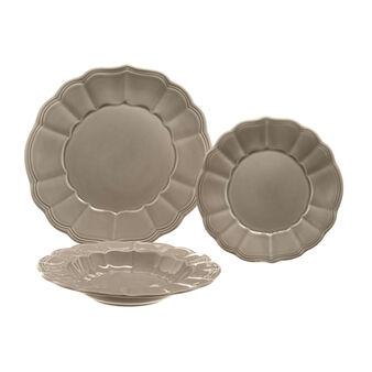 18-piece Portuguese ceramic dinner service in Provençale style