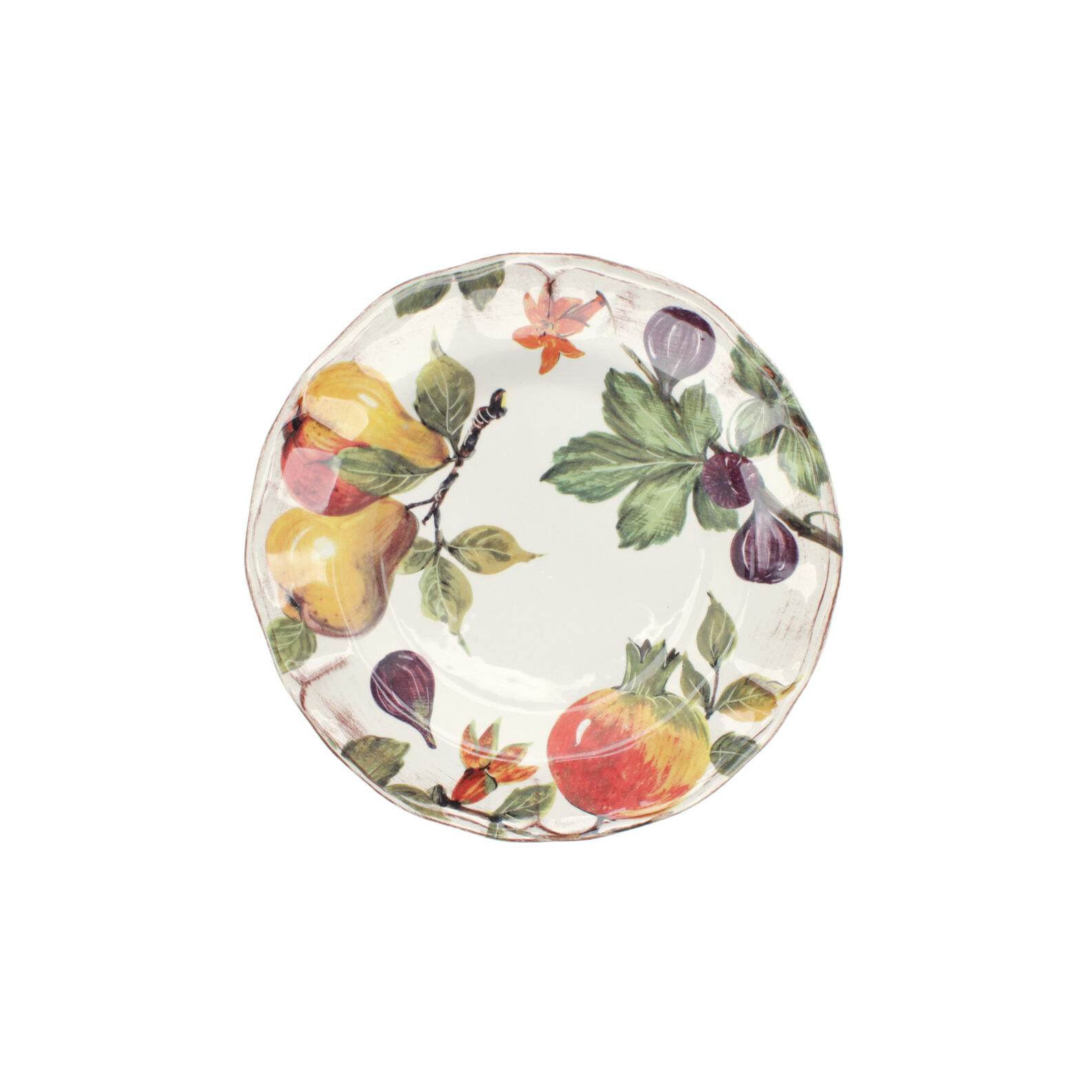 Grenade painted ceramic dinner plate coincasa for Where to buy ceramic plates to paint