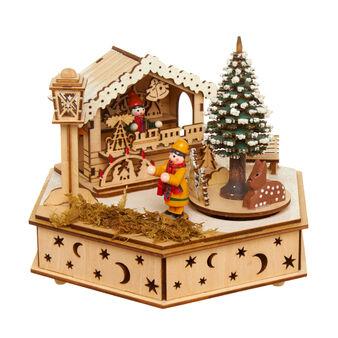 Carillon in legno di balsa