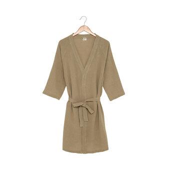 Kimono puro lino con cintura