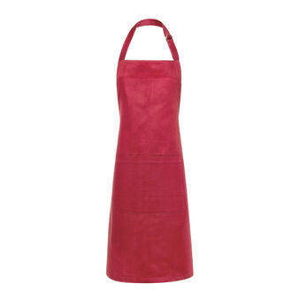 Zefiro 100% Egyptian cotton jacquard bib apron