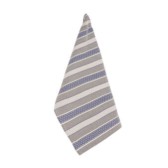 Net tea cloth with jacquard weave
