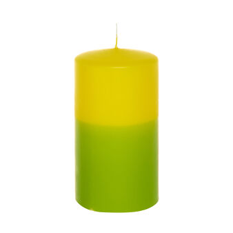 Two-tone candle