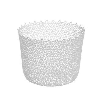 Round lace basket