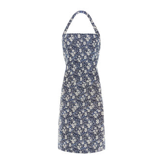 Bib apron with floral Vicky print