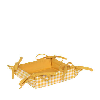 Reversible basket in 100% cotton