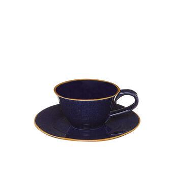 Tazza da tè ceramica con profilo a contrasto George