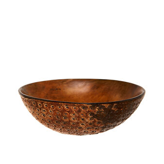 Coconut horn bowl