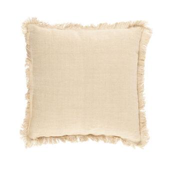 100% linen cushion with ethnic design