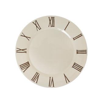 Orologio ceramic plate