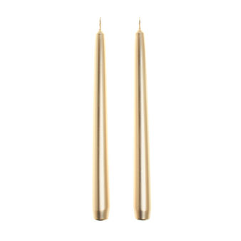Set of 2 conical candles