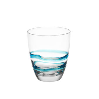Spiral pattern drinking glass