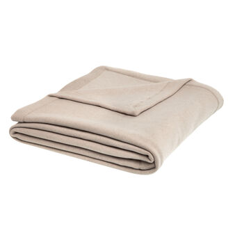 Plain fleece bedspread