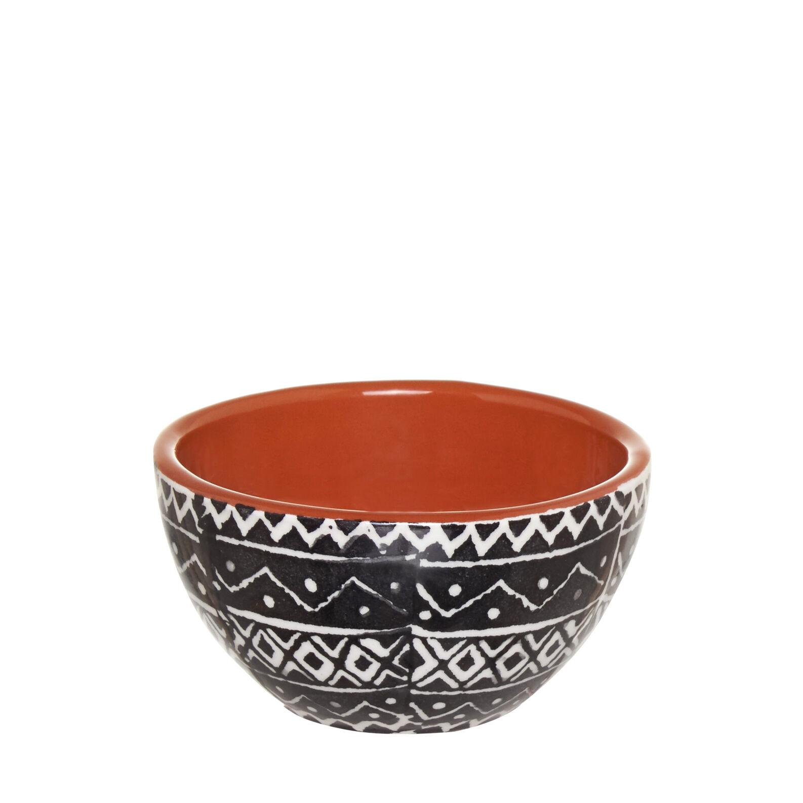 Coppetta ceramica decorazione etnica coincasa for Decorazione ceramica