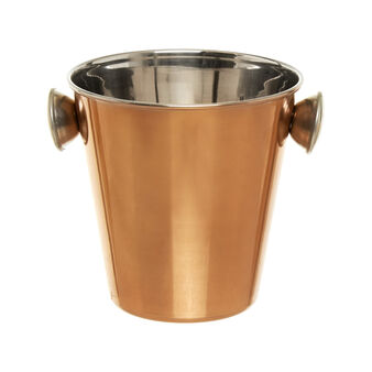 Small ice bucket in copper