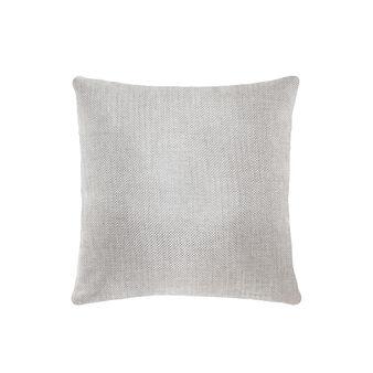 Metallic-effect cushion