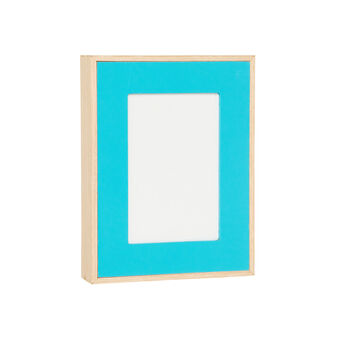 Wood fibre photo frame