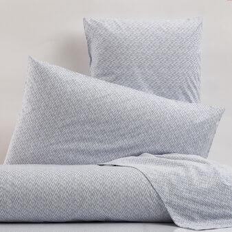 Parure letto in puro cotone stampa all-over