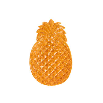 Piatto da portata ananas stoneware