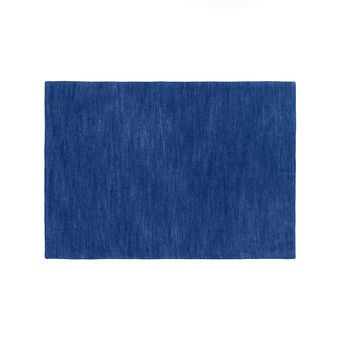 Denim double fabric table mat