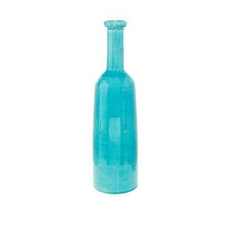 Vaso bottiglia ceramica portoghese craquelé
