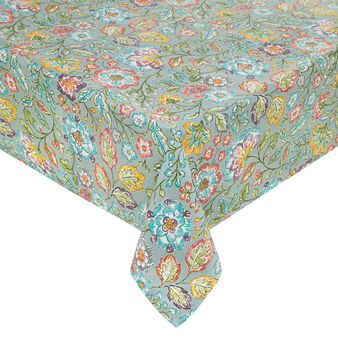 Printed tablecloth in 100% cotton
