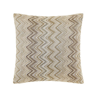 Jacquard cushion with pattern