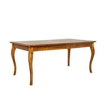 Fir wood extending table Posada
