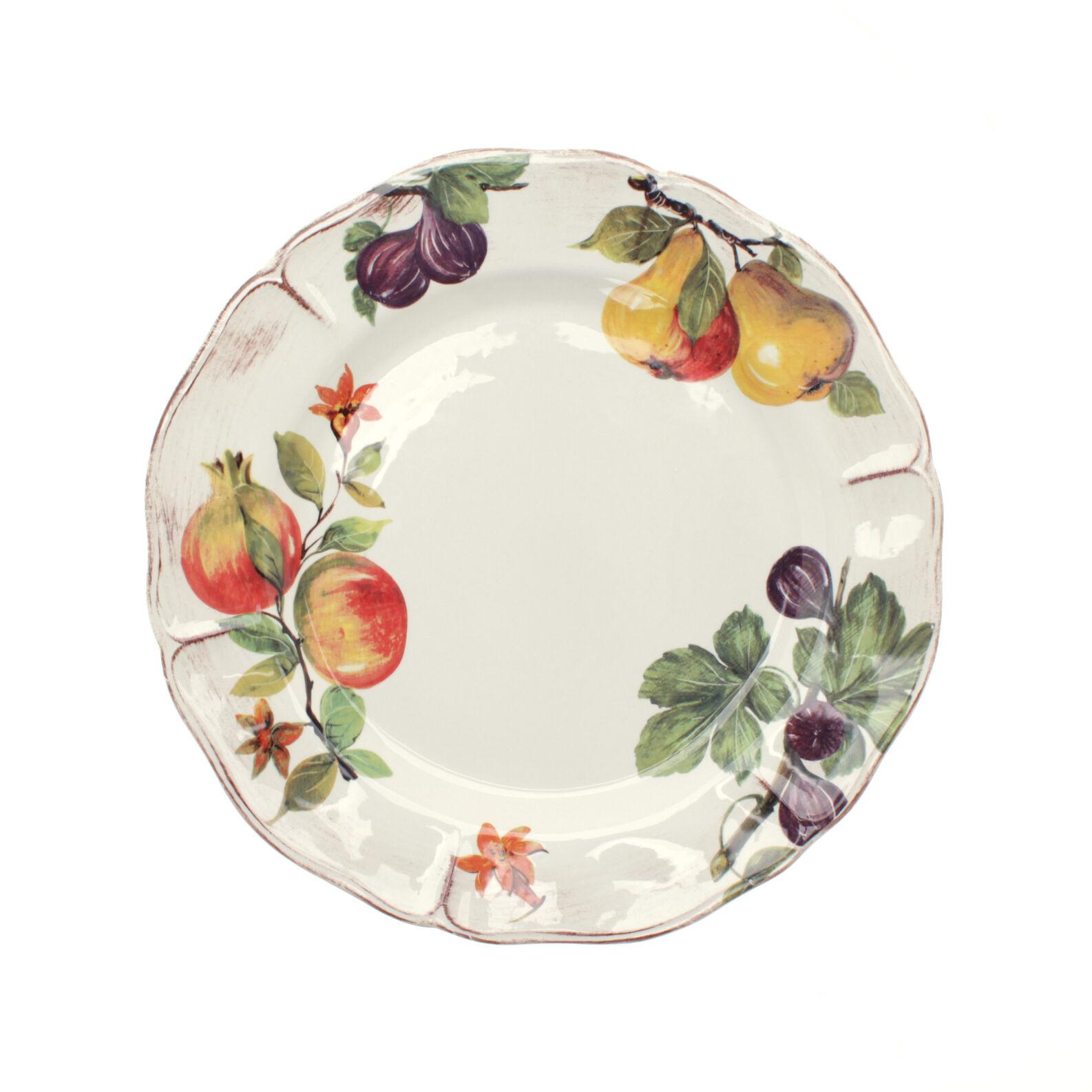 Piatto da portata ceramica dipinta grenade coincasa - Piatti di frutta decorati ...