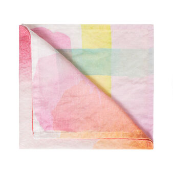 100% linen napkin with soft hand