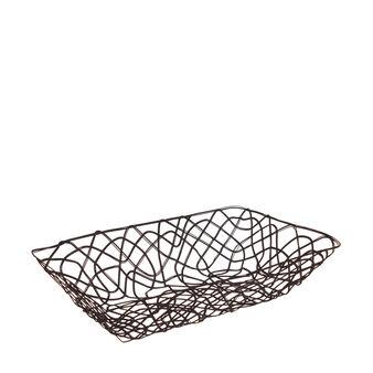 Enamel-coated basket