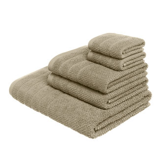 Set 5 asciugamani in puro cotone
