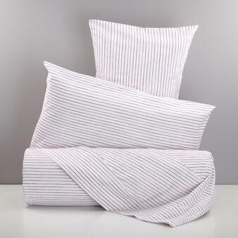 Parure letto puro cotone percalle a righe