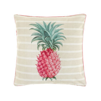 100% cotton cushion with pineapple print