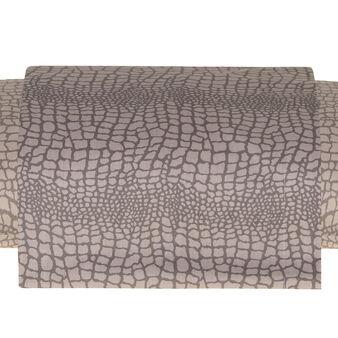 Snakeskin pattern cotton percale sheet