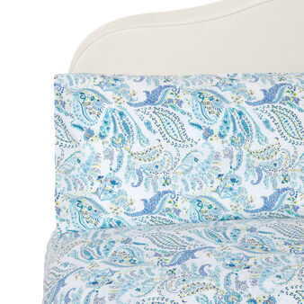 Patterned duvet cover set