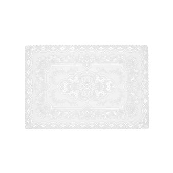 2-pack lace-effect table mats