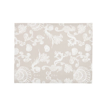 100% cotton water-repellent marine table mat