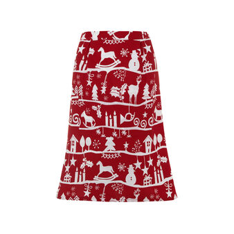 Nordic waist apron in 100% cotton