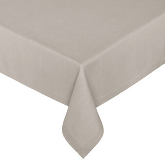 Linen table cloth with soft hand