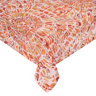 100% cotton tablecloth with Sahara print